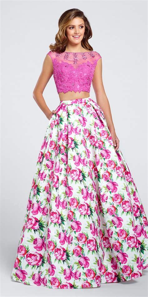 Prom Dress Boutiques Ellie Wilde Print Prom Dress Ew117035 Ellie Wilde