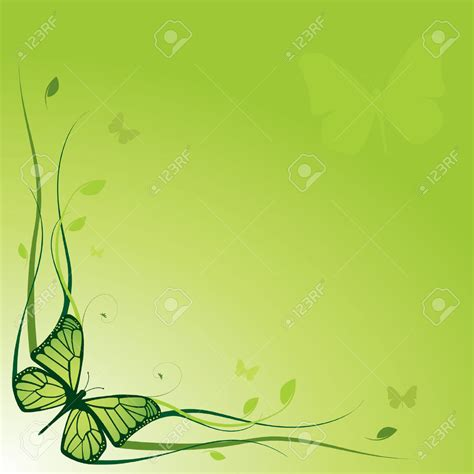 green floral powerpoint template power point templates
