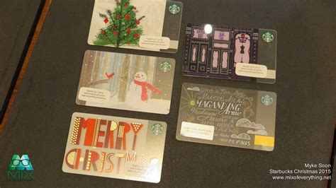 Starbucks Philippines Gift Card - starbucks christmas 2015 holiday card designs hello welcome to my blog