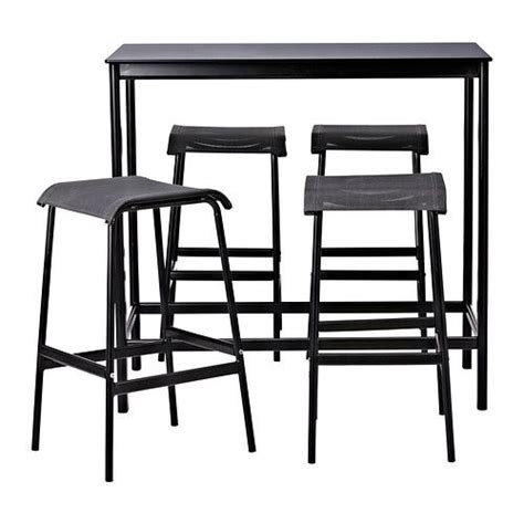 ikea bar stools outdoor garpen bartafel en 4 barkrukken ikea ideas for my house