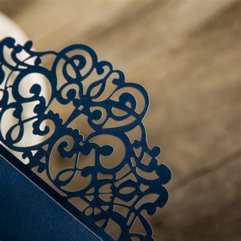 Einladungskarten Hochzeit Dunkelblau by Hochzeitseinladungen Romantisch Traumhafte