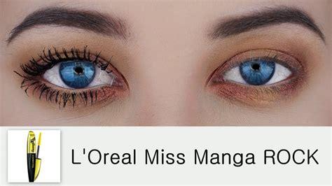 Mascara L Oreal Miss l oreal voluminous miss rock mascara demo review