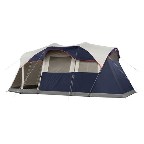 coleman tent with screen room coleman 174 2000027947 elite weathermaster 6 person lighted tent