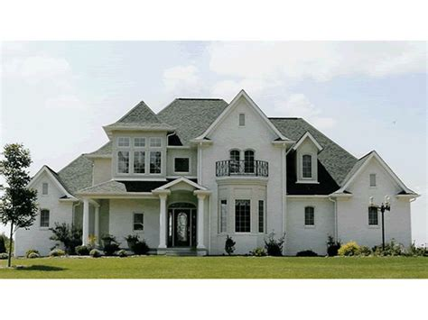 house plans with bay windows amazing bay window with balcony above house plans pinterest