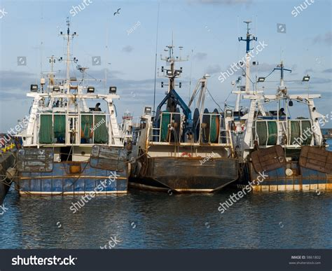 boat license dublin fishing boats in howth harbour ireland stock photo