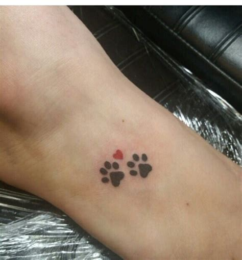 rip dog tattoos 306 best paw print tatoos images on