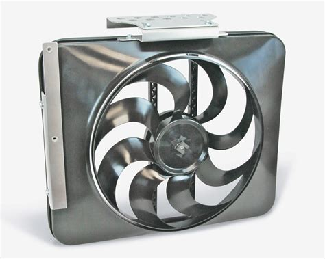 electric cooling fans for trucks flex a lite black magic electric fan 79 93 mustang