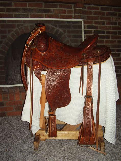 Handmade Saddles For Sale - bondo bob custom saddle for sale saddle trees and