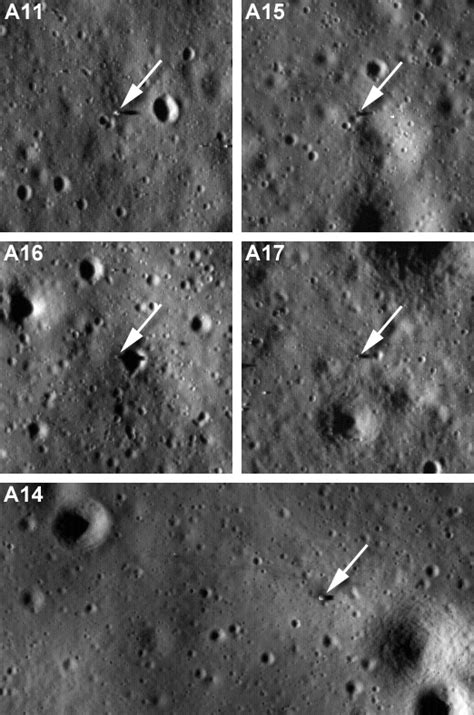 LROC's First Look at the Apollo Landing Sites | Lunar