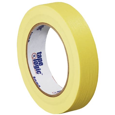 %name Colored Tape   1 in x 60 yds Yellow Colored Masking Tape