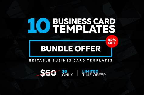 10 Creative Business Card Templates by 10 Creative Business Card Templates Business Card