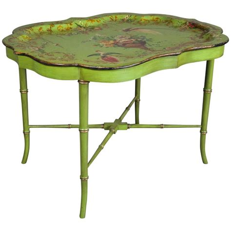 papier m 226 ch 233 tray top coffee table at 1stdibs