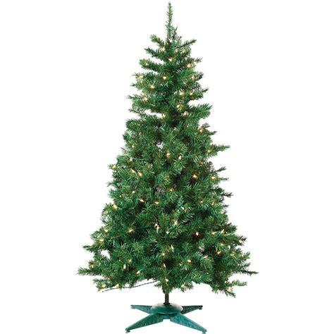 3 artificial trees 3 pre lit artificial colorado spruce tree