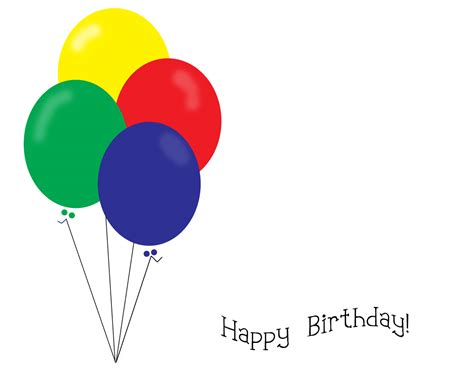 happy birthday template powerpoint birthday balloon favors ideas