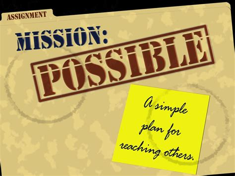 lettere impossibile mission possible 14 12 free powerpoint sermons by