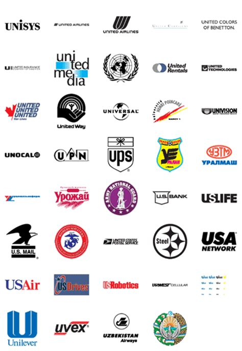 u vector logos brand logo company logo free vector logos famous company logos and trademarks