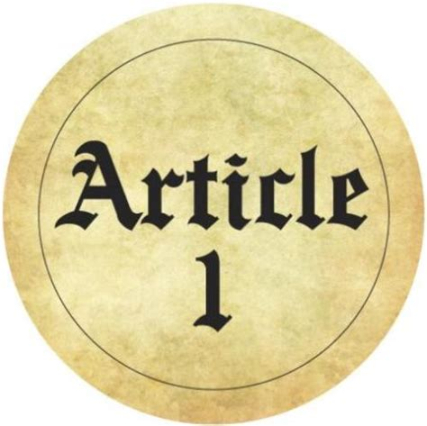 section 1 of the constitution 8 facts about article 1 of the constitution fact file