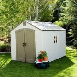 garden plastic garden sheds