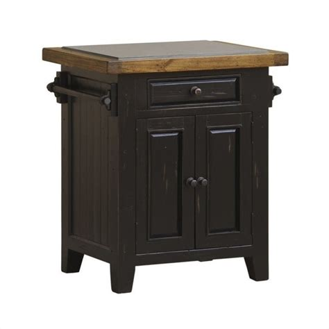 black kitchen island with granite top hillsdale tuscan retreat granite top kitchen island in black 5267 855w