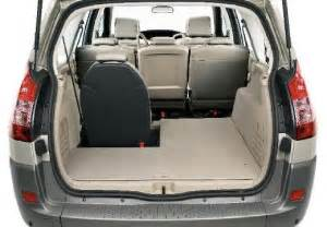 Renault Scenic Luggage Space Renault Grand Scenic Luggage Capacity Images