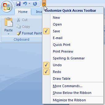 cara menjumlahkan pada word 2007 weblog ask mengenal ribbon pada ms office 2007 hanya sebuah catatan