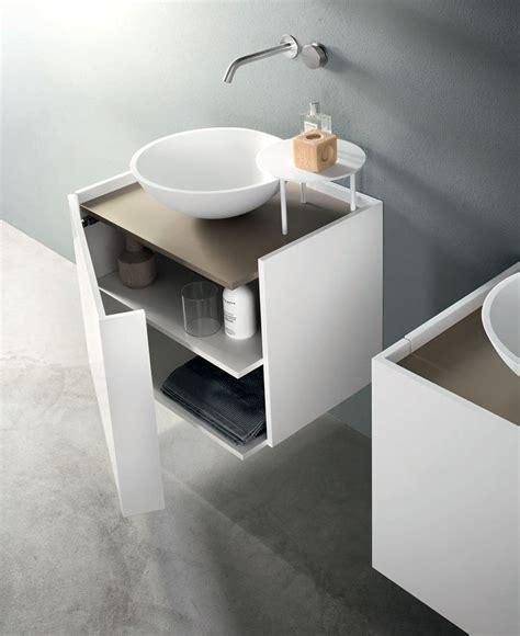 compact size bathroom cabinet  marco taietta interiorzine