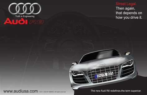 Audi R8 Werbung by 301 Moved Permanently