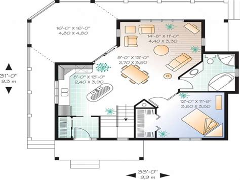 One Bedroom House Interior One Bedroom House Floor Plans One Bedroom Home Designs