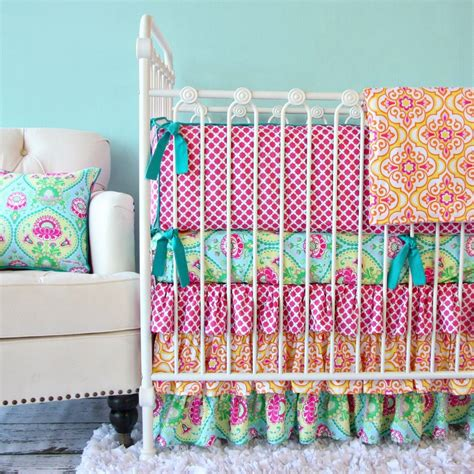 Bright Colored Baby Bedding To Liven Up Your Nursery Bright Color Crib Bedding