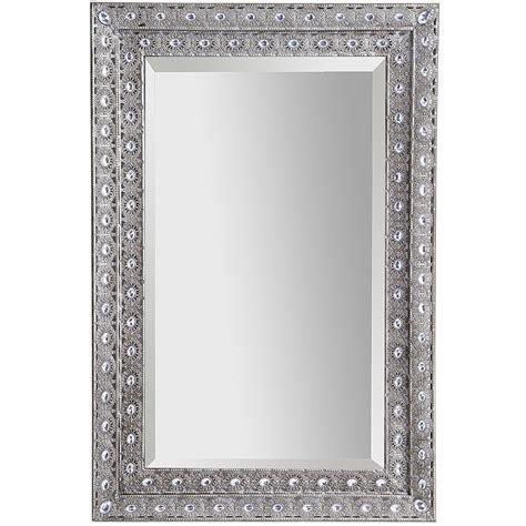 Luminous Metal Framed 24x36 Mirror   Pier 1 Imports