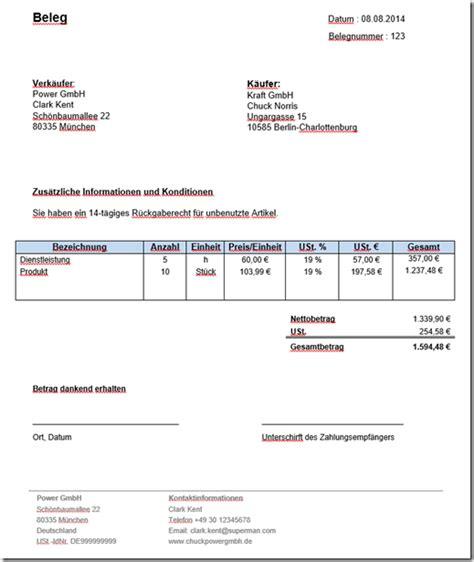 Musterrechnung Charge Verfahren Schweiz Formular Quittung Tutorial Rechnung Bar Bezahlt Auswaehlenjpg Brutto Rechnung Schreiben Brutto