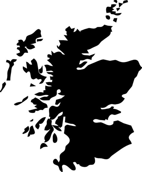 Scottish Outline by Scotland Outline Clip At Clker Vector Clip Royalty Free Domain