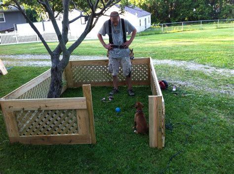 backyard dog pens 17 best ideas about outdoor dog kennels on pinterest dog
