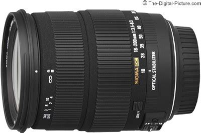 sigma 18 200mm f/3.5 6.3 dc os lens review