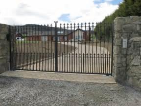 driveway gates owen chubb garden landscapers