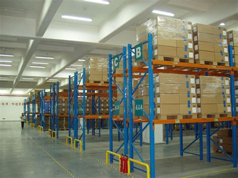economical selective industrial pallet racks customized  palletised products storage