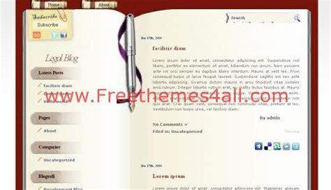 wordpress theme free yellow free brown yellow book blog wordpress theme freethemes4all