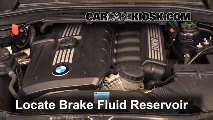 add brake fluid: 2008 2013 bmw 128i 2011 bmw 128i 3.0l 6