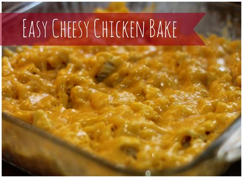 printable chicken recipes easy cheesy chicken bake recipe printable coupons my