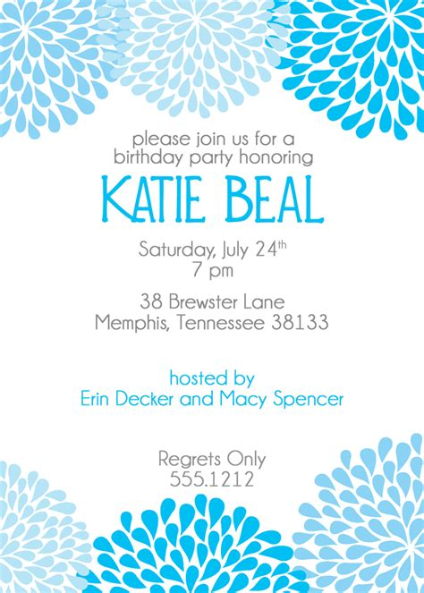 birthday invitations templates for adults birthday invitations theruntime