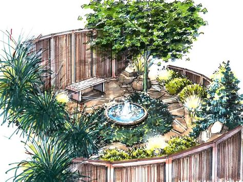 Meditation Bench Plans A Meditation Garden Plan Hgtv