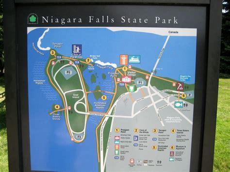 america map niagara falls hit the road travel niagara falls new york