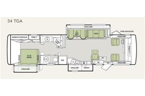 One Bedroom Cabin Floor Plans 2012 tiffin allegro 34 tga photos details brochure