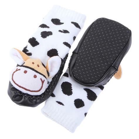 non slip toddler slippers 1pair non slip baby infant toddler moccasins shoes socks