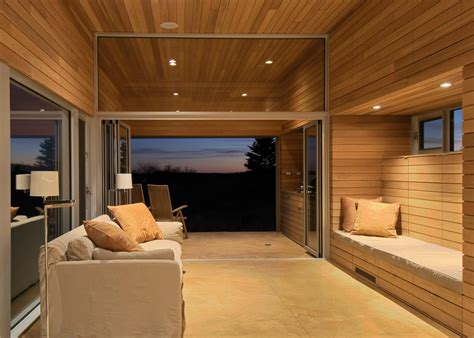 Country Homes Interiors Architects Add Zen Like Timber Spa And Gym To Coastal Nova