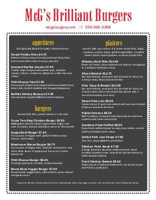 backyard burger menu restaurant menu gallery musthavemenus