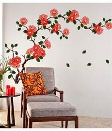 dimensional wall stickers tree bird sticker sofa wall