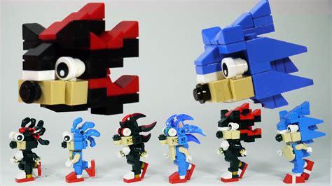 Lego Shadow Brick Minifigure how to build lego shadow sonic the hedgehog