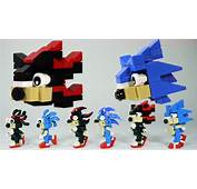 How To Build LEGO Shadow &amp Sonic The Hedgehog  YouTube