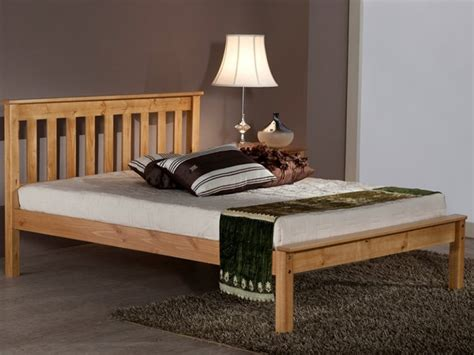 antique king bed with wooden frame and foot board iron denver low foot end antique pine at mattressman